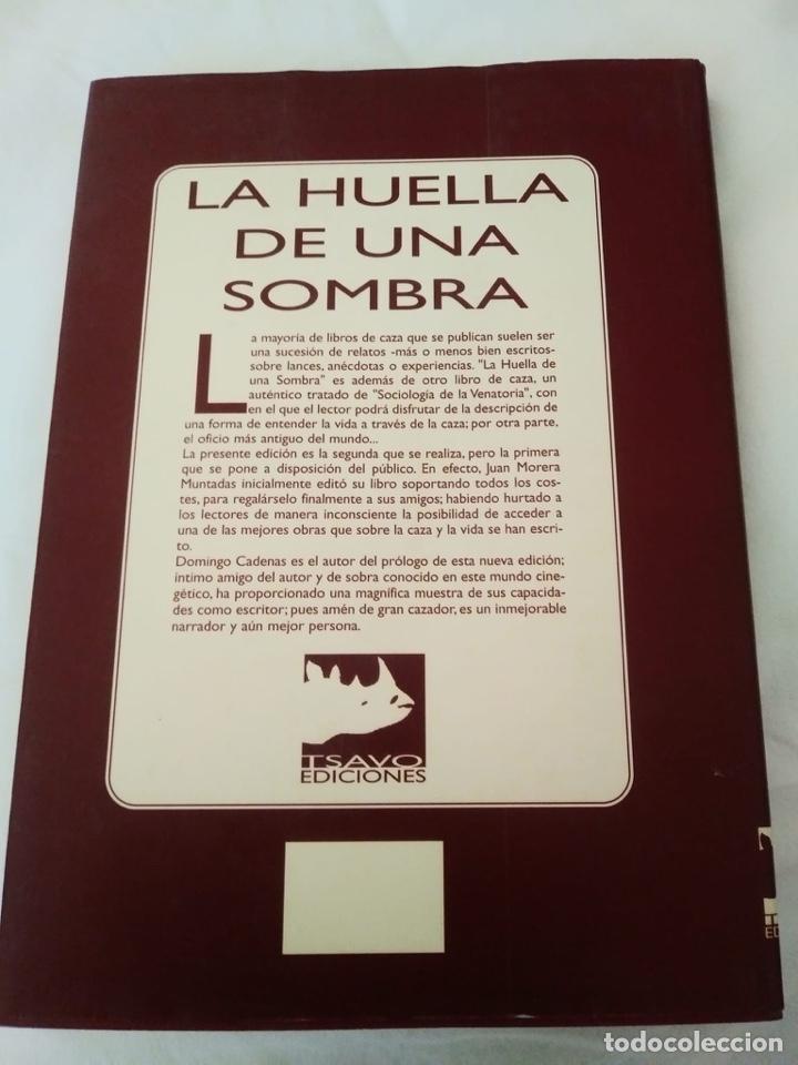 Libros: La huella de una sombra de Juan Morera Muntadas - Foto 2 - 254356205