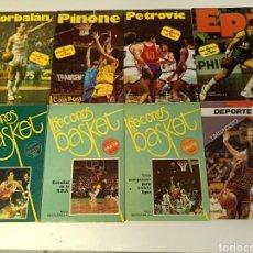 Libros: LOTE LIBROS BASKET ,PETROVIC,EPI,CORBALAN,PINONE, DEPORTE 92. Lote 255412090