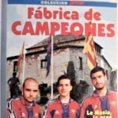 Libros: FÁBRICA DE CAMPEONES, COLECCIÓN SPORT 1966. Lote 257668415