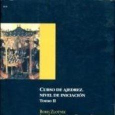 Libros: CURSO DE AJEDREZ. NIVEL DE INICIACIÓN. VOL.II. Lote 261365675