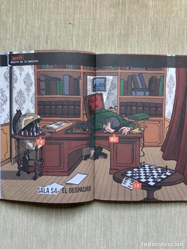 Libros: Libro Muerte en la Mansión Escape Game. escape Room. - Foto 2 - 262263360
