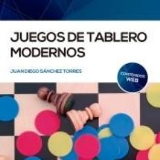 Libros: JUEGOS DE TABLERO MODERNOS. Lote 262572325