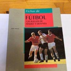Libros: LIBRO DE FÚTBOL. 120 JUEGOS DE ATAQUE Y DEFENSA. Lote 262618430