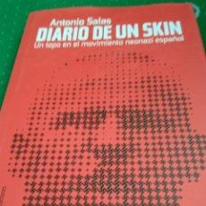 Libros: DIARIO DE UN SKIN. Lote 269648868