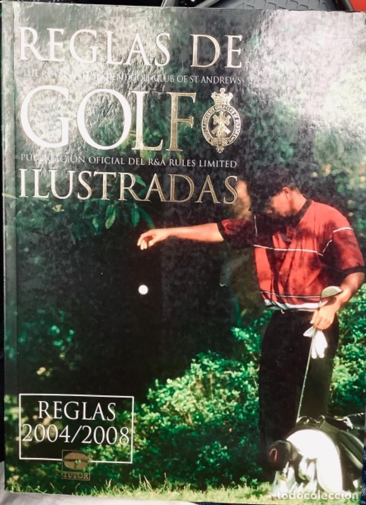 REGLAS DEL GOLF ILUSTRADO (Libros Nuevos - Ocio - Deportes y Juegos)