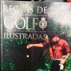 Libros: REGLAS DEL GOLF ILUSTRADO. Lote 274430203