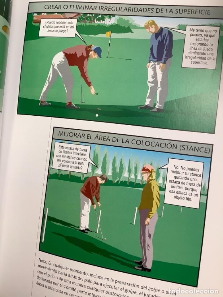 Libros: Reglas del golf ilustrado - Foto 3 - 274430203