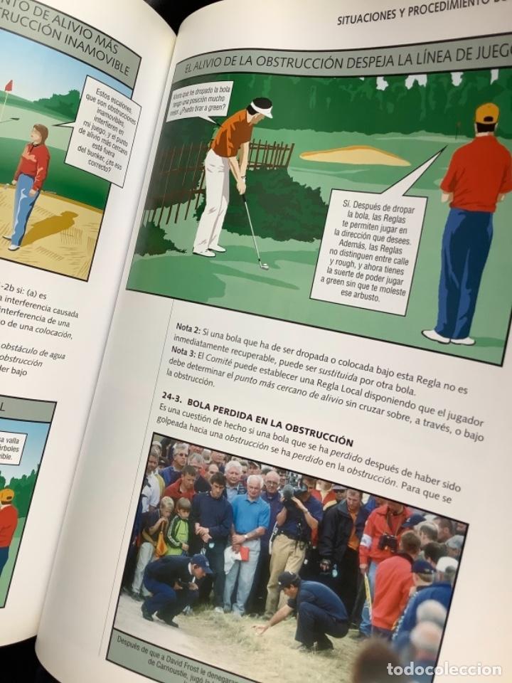 Libros: Reglas del golf ilustrado - Foto 4 - 274430203