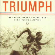 Libros: TRIUMPH. THE UNTOLD HISTORY OF JESSE OWENS AND HITLER'S OLYMPICS / J. SCHAAP.. Lote 276010128