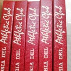 Libros: HISTORIA DEL ATHLETIC 5 TOMOS. Lote 276013973