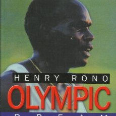 Libros: HENRY RONO. OLYMPIC DREAM.. Lote 276023908