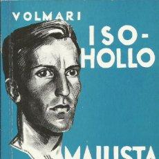 Libros: MAILISTA MARATONIN / VOLMARI ISO HOLLO. (BIOGRAFÍA DEL OBSTACULISTA FINLANDÉS ISO HOLLO.. Lote 276028758