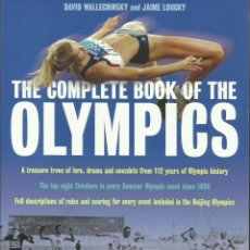 Libros: THE COMPLETE BOOK OF THE OLYMPICS / 2008 EDITION.. Lote 276259398