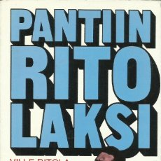 Libros: PANTIIN RITLOLAKSI (BIOGRAFÍA DE RITOLA) / WILLE RITOLA.. Lote 276282413