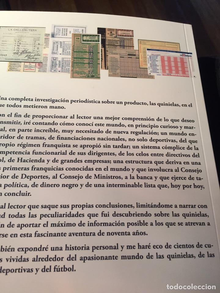 Libros: 90 años del nacimiento de la quiniela 1 x 2 - Foto 2 - 277193203