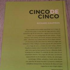 Libros: CINCO DE CINCO RICHARD KAUFMAN PÁGINAS LIBROS DE MAGIA. Lote 277523863