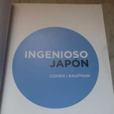 Libros: INGENIOSO JAPÓN COHEN KAUFMAN PÁGINAS LIBROS DE MAGIA. Lote 277524638