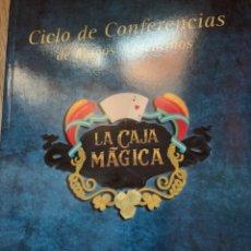 Libros: CICLO DE CONFERENCIAS DE MAGOS ARGENTINOS PÁGINAS LIBROS DE MAGIA. Lote 277525128
