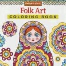 Libros: FOLK ART COLORING BOOK. Lote 279571883