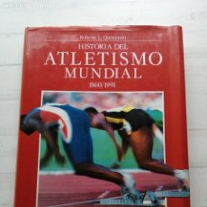 Libros: HISTORIA DEL ATLETISMO MUNDIAL 1860/1961 ROBERTO QUERCETANI EXCELENTE ESTADO DEBATE - GRAN FORMATO. Lote 289210713