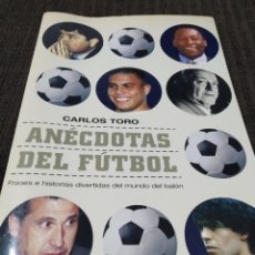 Libros: ANÉCDOTAS DEL FUTBOL. Lote 293677993