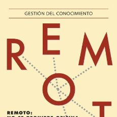 Libros: EMPRESA. REMOTO - JASON FRIED/DAVID HEINEMEIER HANSSON. Lote 42427789