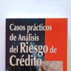 Libros: CASOS PRÁCTICOS DE ANÁLISIS DEL RIESGO DE CRÉDITO. (NUEVO) 2002. JAIME TOMÁS, ORIOL AMAT. Lote 47952794