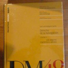 Libros: DERECHO DE LA NAVEGACION VOL 5 . LOS SEGUROS MARITIMOS Y AEREOS. RODRIGUEZ CARRION. MARCIAL PONS. . Lote 47955176