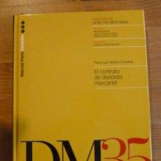 Libros: EL CONTRATO DE DEPOSITO MERCANTIL. SERRERA CONTRERAS. ED. MARCIAL PONS. 2001 224 PAG. Lote 47955227