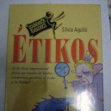 Libros: ÉTIKOS. SILVIA ANGULLÓ.( LA ÉTICA EMPRESARIAL A TRAVÉS DE UNA FÁBULA). Lote 50992671
