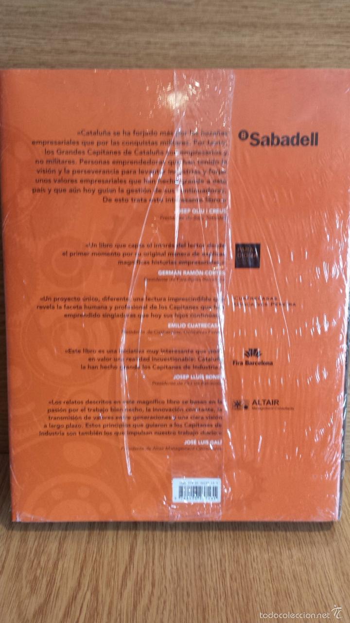 Libros: CAPITANES DE INDUSTRIA EXPLICADOS POR SUS HIJOS. FRANCESC CANOSA FARRAN. ED-MOBIL BOOKS./ PRECINTADO - Foto 2 - 56152138