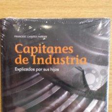 Libros: CAPITANES DE INDUSTRIA EXPLICADOS POR SUS HIJOS. FRANCESC CANOSA FARRAN. ED-MOBIL BOOKS./ PRECINTADO. Lote 56152138