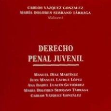 Libros: DERECHO PENAL JUVENIL. Lote 70610365