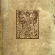 Libros: FUERO REAL DE ESPAÑA, GLOSADO POR ALFONSO DIAZ DE MONTALVO (FACSÍMIL). Lote 94245690