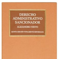 Libros: DERECHO ADMINISTRATIVO SANCIONADOR ED. TECNOS. Lote 95317936