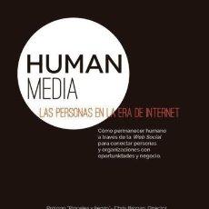 Libros: HUMAN MEDIA : LAS PERSONAS EN LA ERA DE INTERNET FORMACIÓN ALCALÁ, S.L.. Lote 95570676