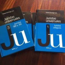 Libros: JURISTAS UNIVERSALES (OBRA COMPLETA). Lote 98142567