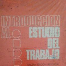 Libros: INTRODUCCIÓN AL ESTUDIO DEL TRABAJO. TERCERA EDICIÓN REVISADA. OFICINA INTERNACIONAL DE TRABAJO GINE. Lote 98945047
