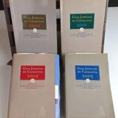 Libros: GUÍAS JUDICIAL DE CATALUNYA. 4 EJEMPLARES. C. DELS IL-LUSTRES COL-LEGIS D'ADVOCATS DE CATALUNYA. . Lote 99710775