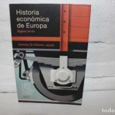 Libros: HISTORIA ECONÓMICA DE EUROPA. XV-XX ANTONIO DI VITTORIO, COORD. CRÍTICA. DESCATALOGADO. Lote 100619203