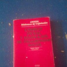 Libros: LIBRO CÓDIGO PENAL EDITORIAL CIVITAS S.A.. Lote 102106495