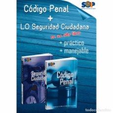 Libros: CÓDIGO PENAL ACTUALIZADO Y LO 4/15 SOBRE PROTECCIÓN DE LA SEGURIDAD CIUDADANA NUEVO IMPECABLE. Lote 103278467