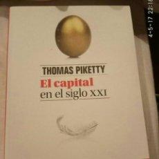 Libros: EL CAPITAL EN EL SIGLO XXI. Lote 105349768