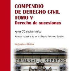 Libros: DERECHO DE SUCESIONES EDITORIAL UNIVERSITARIA RAMÓN ARECES. Lote 105592463