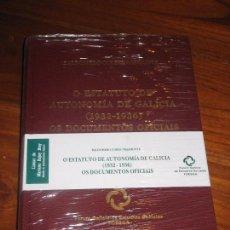Libros: BALDOMERO CORES TRASMONTE. O ESTATUTO DE AUTONOMÍA DE GALICIA (1932-36) OS DOCUMENTOS OFICIAIS. 1998. Lote 105757367