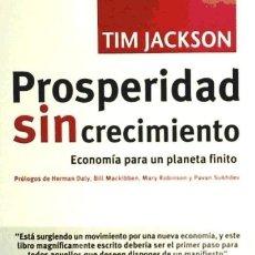 Libros: PROSPERIDAD SIN CRECIMIENTO ICARIA. Lote 105891766
