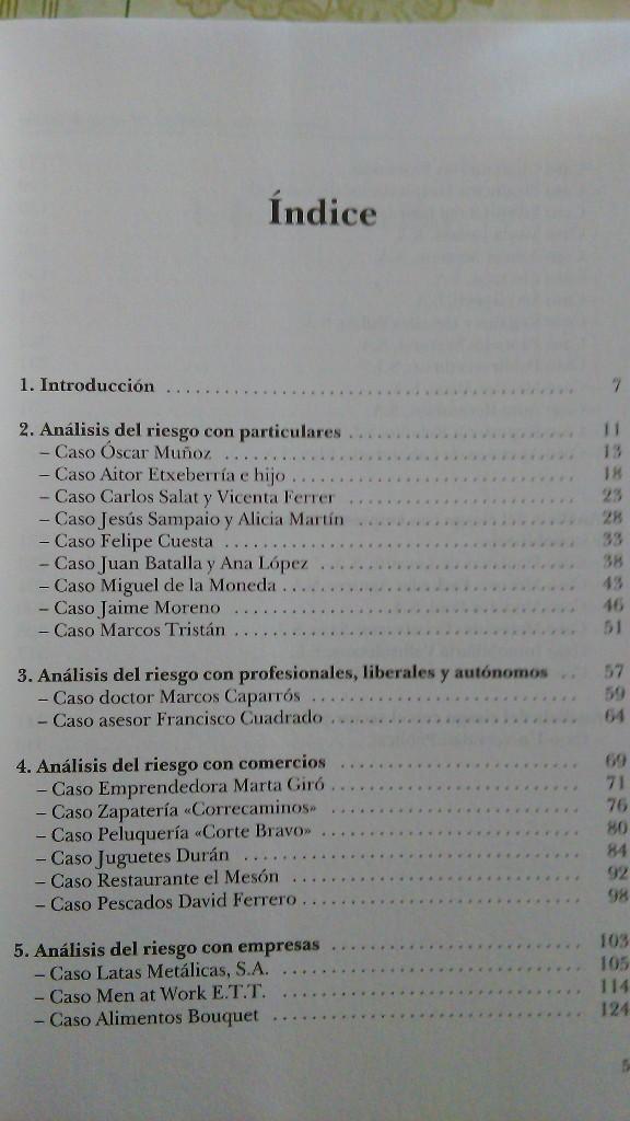 Libros: Casos prácticos de Análisis del Riesgo de Crédito. (NUEVO) 2002. JAIME TOMÁS, ORIOL AMAT - Foto 3 - 47952794