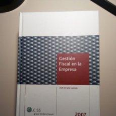 Libros: GESTIÓN FISCAL DE EMPRESAS. Lote 114192798