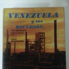 Libros: VENEZUELA Y SUS RECURSOS. Lote 122212419