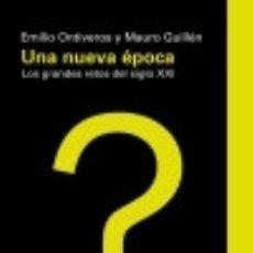 Libros: UNA NUEVA ÉPOCA: LOS GRANDES RETOS DEL S. XXI. Lote 125932432